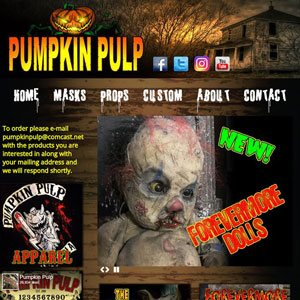 Pumpkin Pulp website