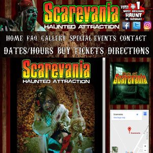 Scarevania Website
